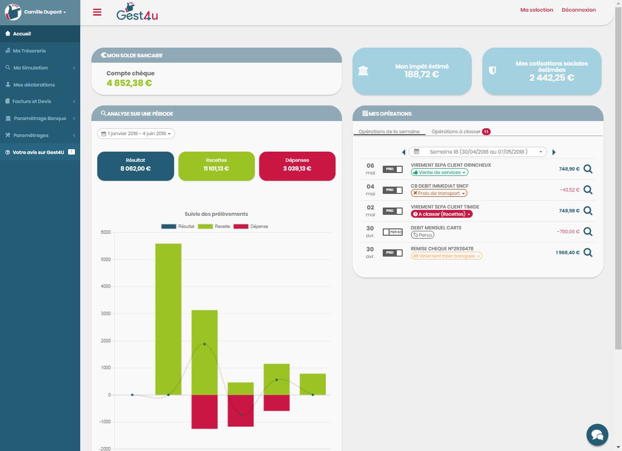logiciel comptable gestion trésorerie