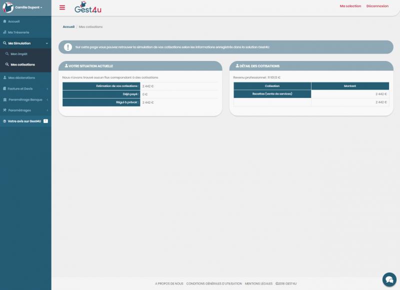logiciel calcul des charges et cotisations
