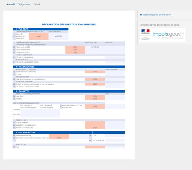 déclaration de TVA logiciel comptable micro-entrepreneur