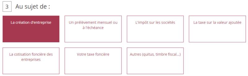 Trouver adresse SIE service des impôts des entreprises