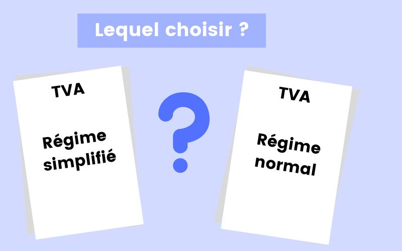 Passage à la TVA : quel régime de TVA choisir ?